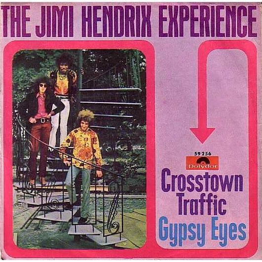 Crosstown Traffic Gypsy Eyes By Jimi Hendrix Experience