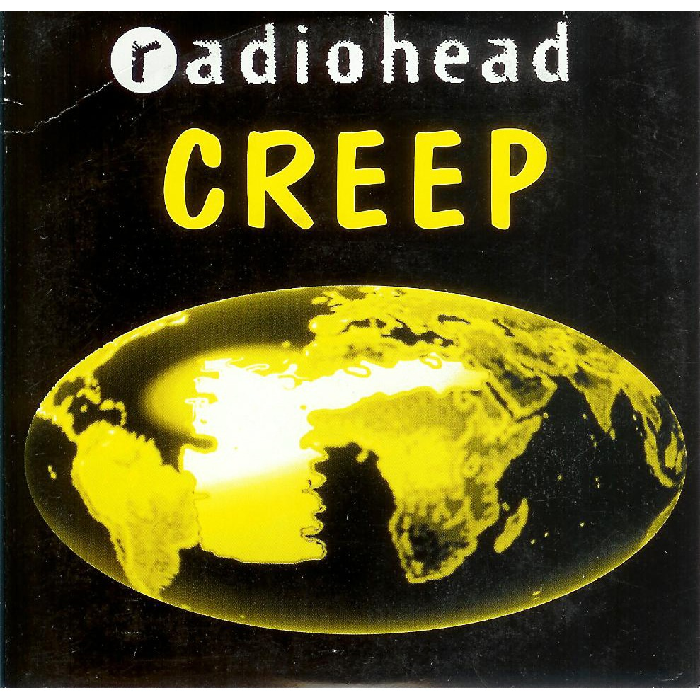 Radiohead Creep Album Cover