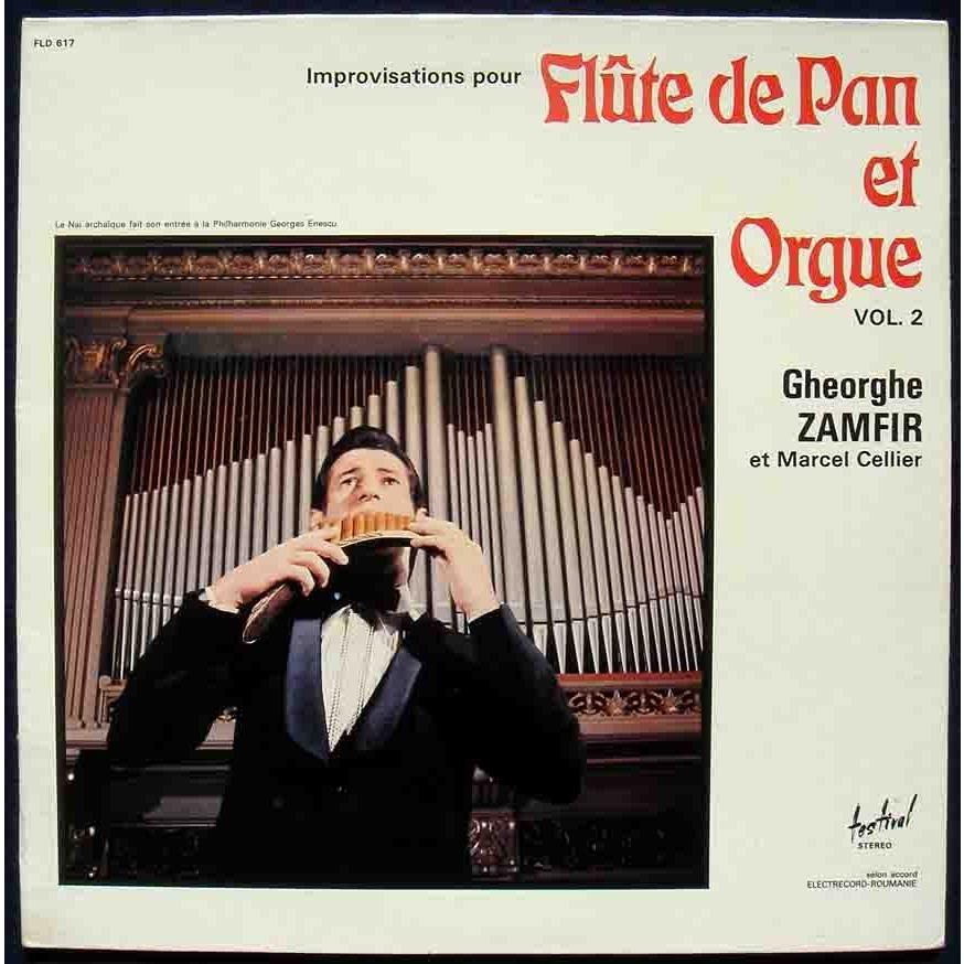 Flute de pan et orgue 2 by Gheorghe Zamfir, LP with maziksound ...