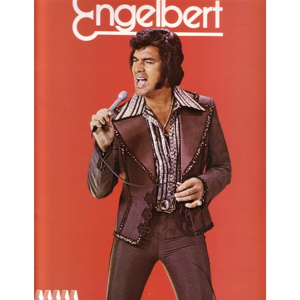 1976 tour concert program book new by Engelbert ...