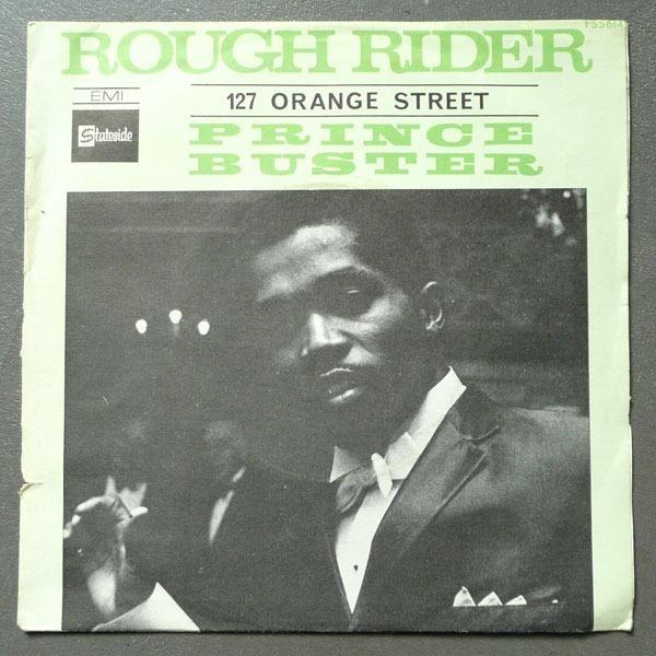 Prince Buster Rough Rider 127 Orange Street Rare French