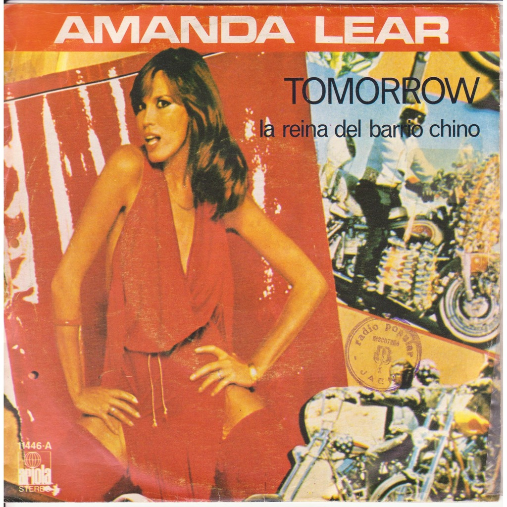 AMANDA LEAR - TOMORROW LYRICS - SONGLYRICS.com