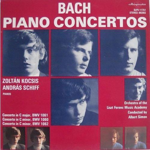 Bach Piano Concertos By Kocsis Zoltan Andras Schiff