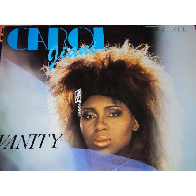 carol jiani vanity 1985 FRANCE (MAXIBOXLP)