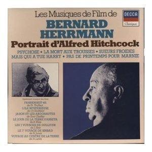 BERNARD HERRMANN portrait d'alfred hitchcock (3 lp)