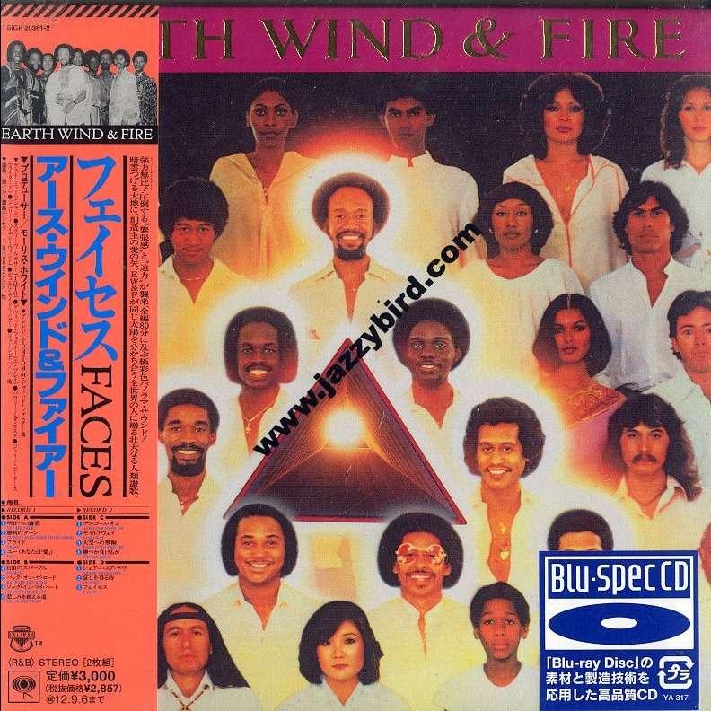 earth wind & fire Faces [Blu-spec CD]