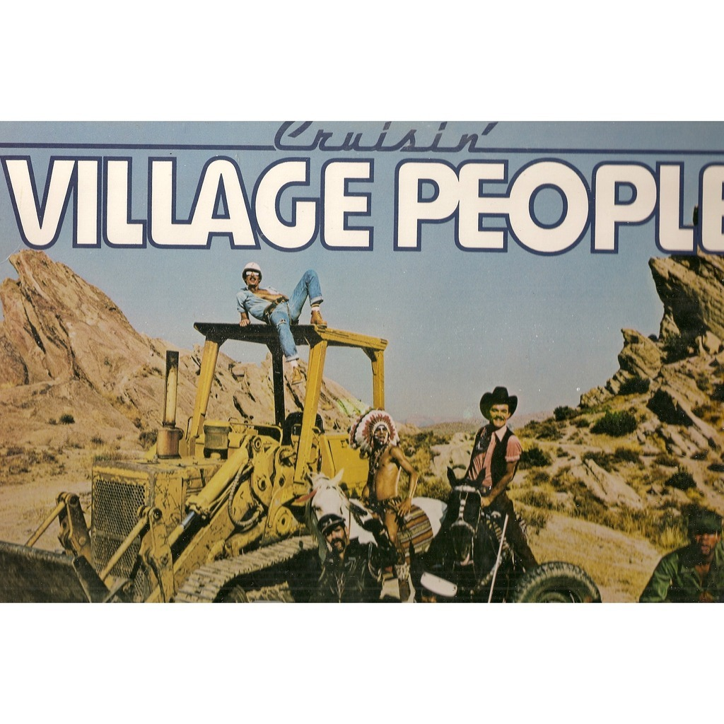 Cruisin By Village People Lp With Galgano Ref 115387481