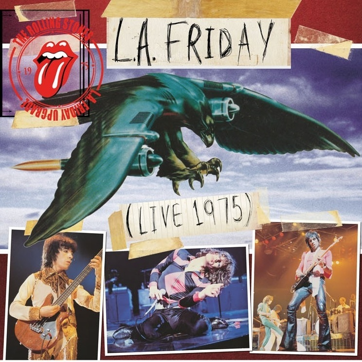 L A Friday Live 1975 By The Rolling Stones Lp X 5 With