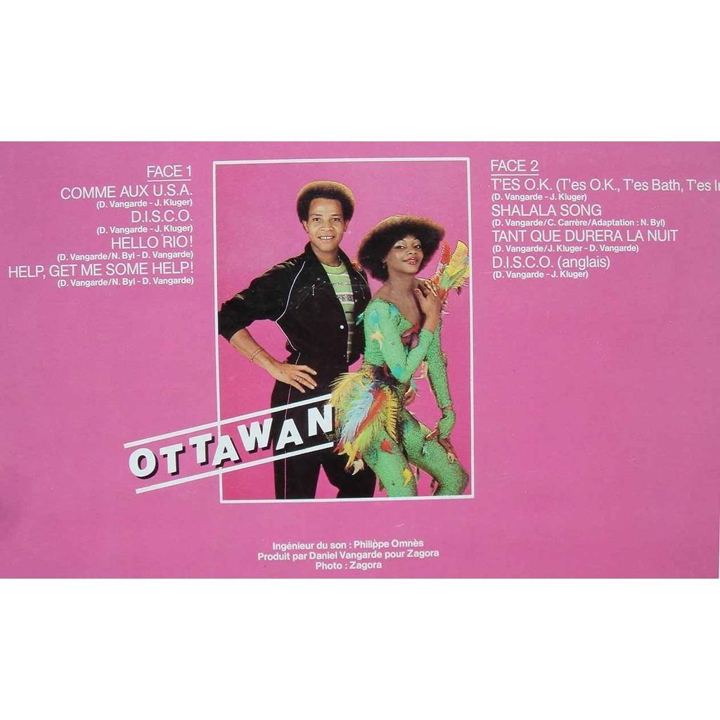 Disco by Ottawan, LP with maziksound - Ref:115389144