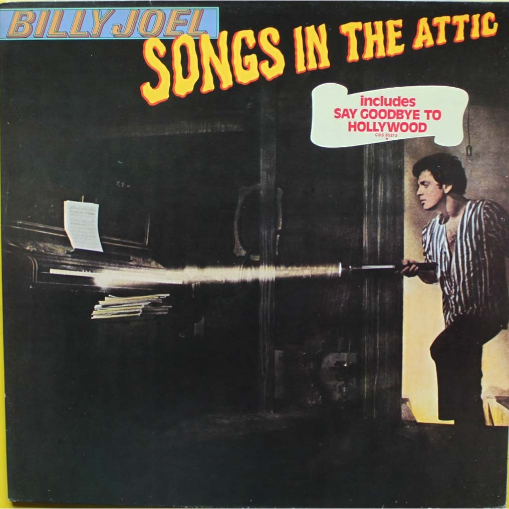 Songs In The Attic By Billy Joel Lp With Nyphus Ref