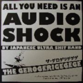 THE GEROGERIGEGEGE - ALL YOU NEED IS AN AUDIO SHOCK - COMPILATION 19 TRACKS - SENZURI ACTION/NOISE ACTION - LP