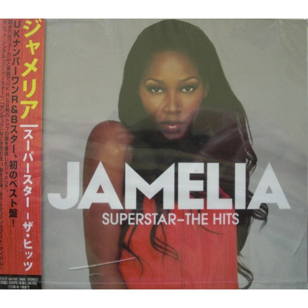 Superstar The Hits Japanese Press By Jamelia Cd With