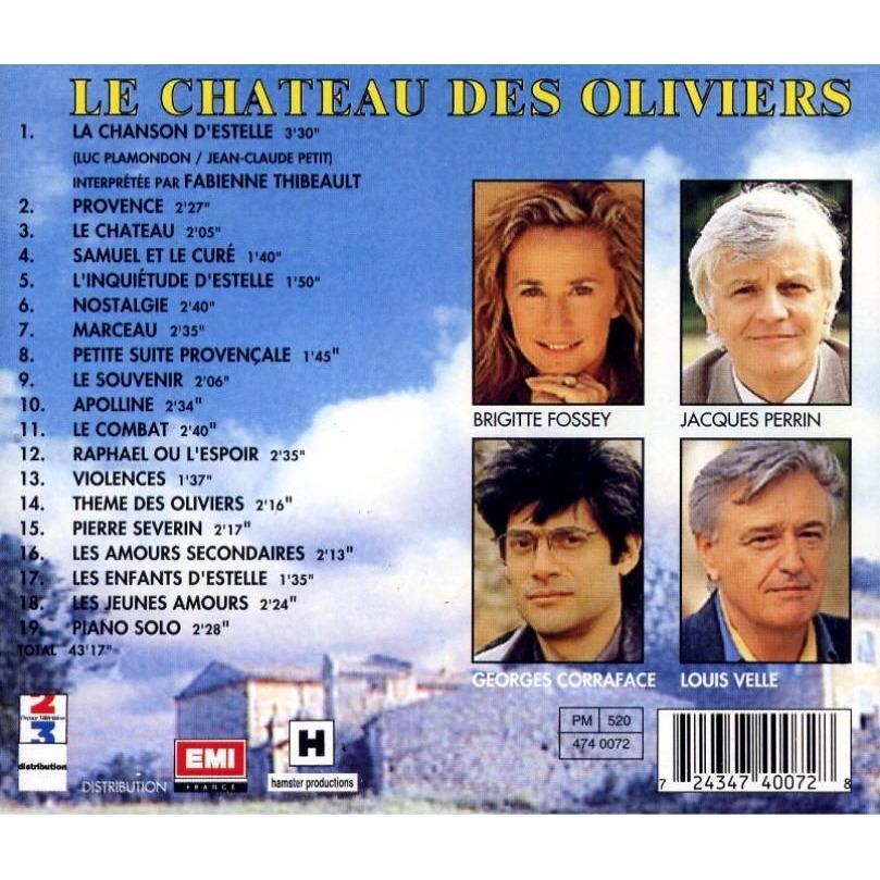 Le chateau des oliviers par fabienne thibeault de le chateau des oliviers cd - Le chateau des oliviers de salette ...
