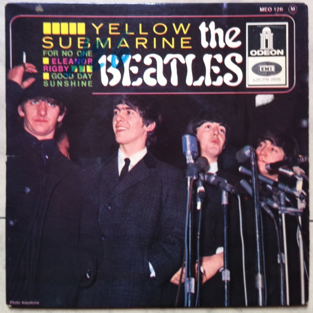 THE BEATLES YELLOW SUBMARINE/FOR NO ONE/ELEANOR RIGBY/GOOD DAY SUNSHINE