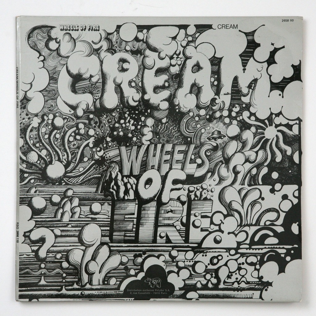 Wheels Of Fire By Cream Cd X 2 With Gileric67 Ref 115405179