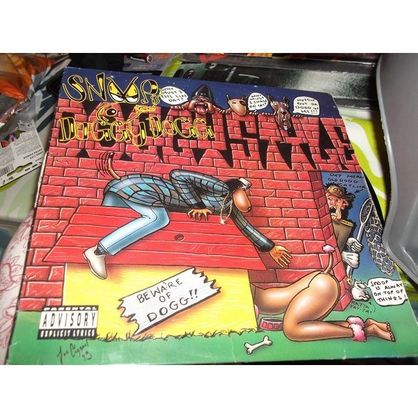 Doggystyle By Snoop Doggy Dog Lp With Vinylesderap Ref