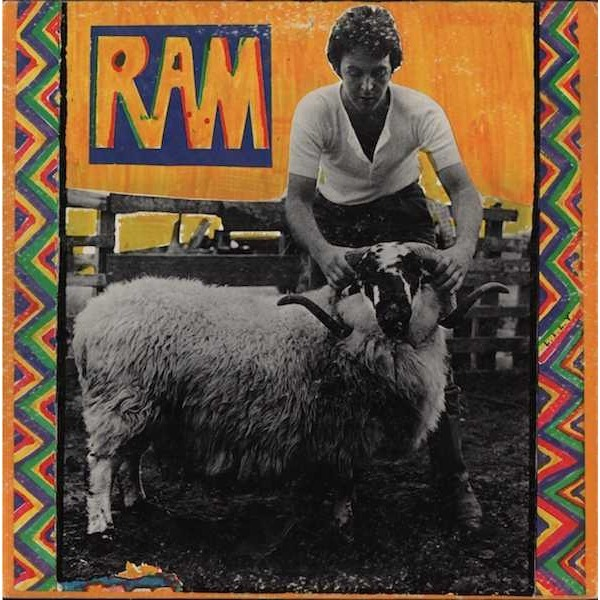 Ram By Paul And Linda Mccartney Lp With Passat55 Ref