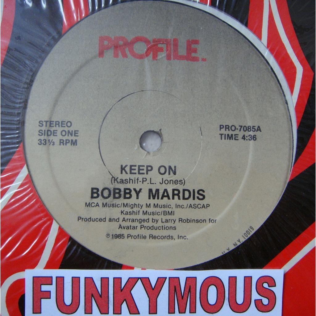 Bobby Mardis Keep On