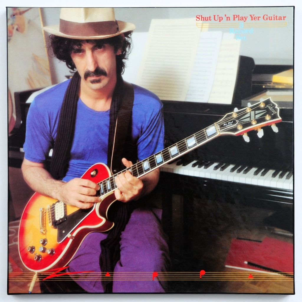 Shut Up N Play Yer Guitar By Frank Zappa Lp X 3 With
