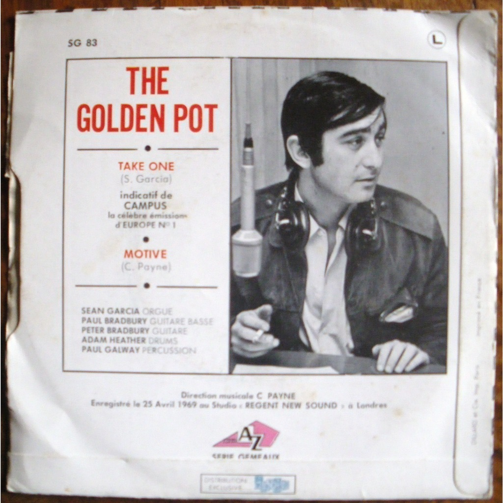 The golden pot Take One / motive
