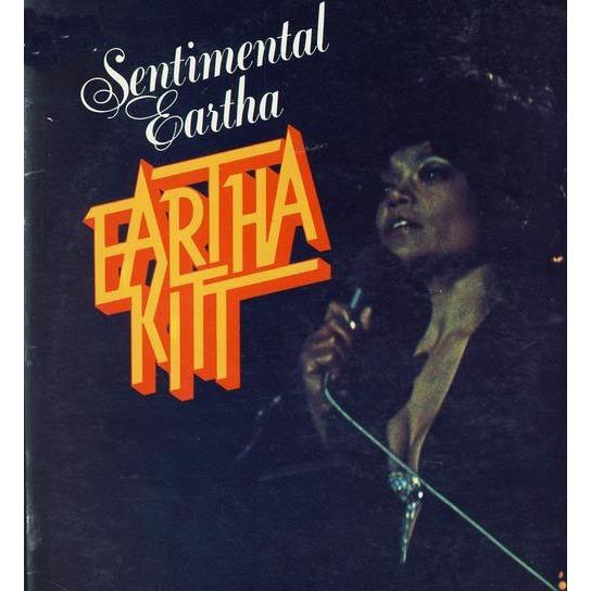 Eartha Kitt Sentimental Eartha