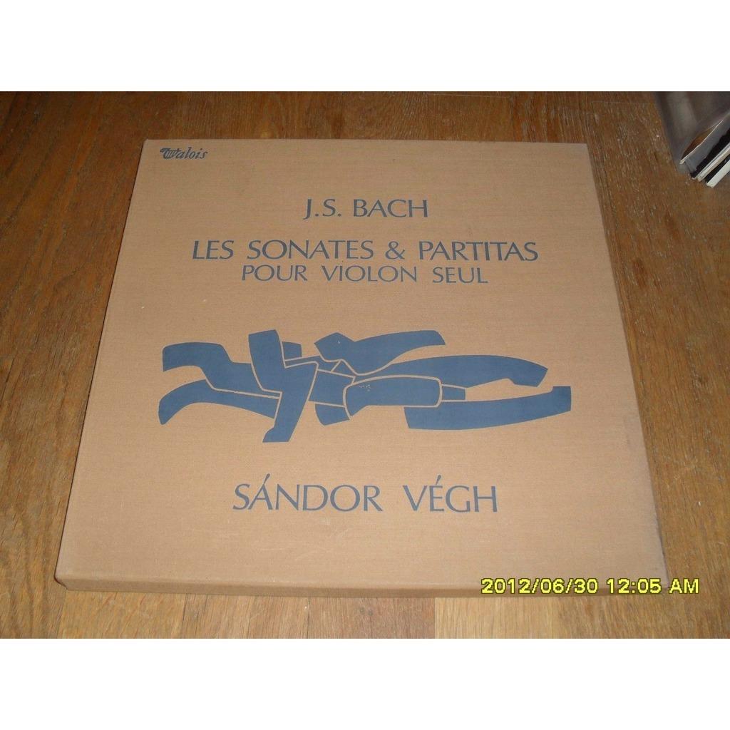 SANDOR VEGH BACH: LES SONATES & PARTITAS POUR VIOLON SEUL