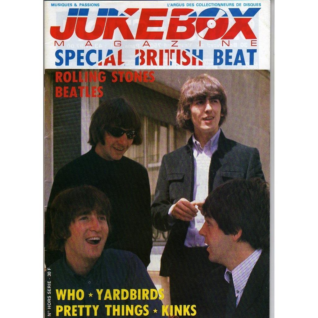 JUKEBOX MAGAZINE SPECIAL BRITISH BEAT - 4EME TRIMESTRE 1990