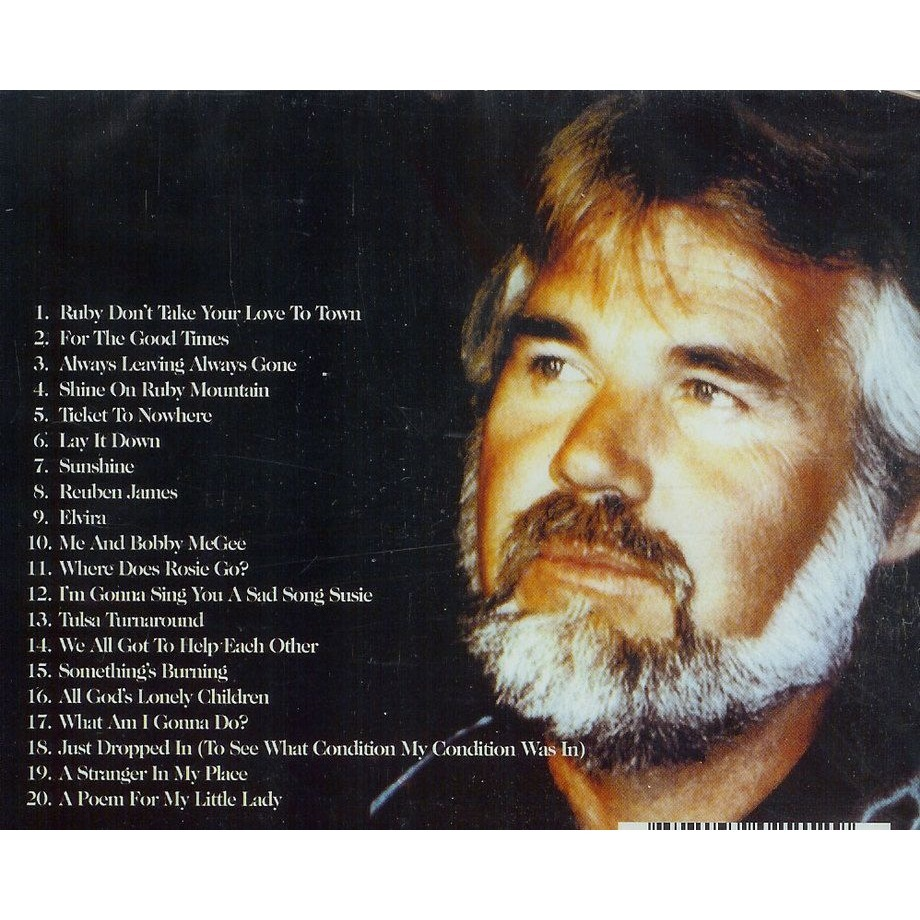 For the good times by Kenny Rogers, CD with oemie - Ref:112066013