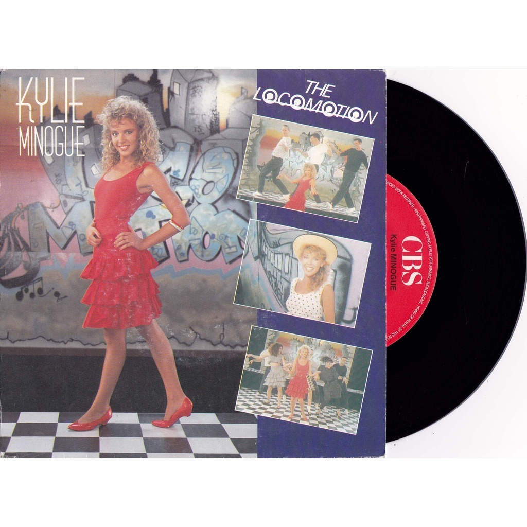 kylie minogue the locomotion /  i'll still be loving you