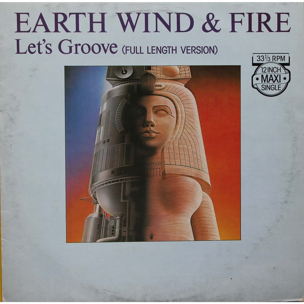 Let S Groove By Earth Wind And Fire 12inch With Nyphus