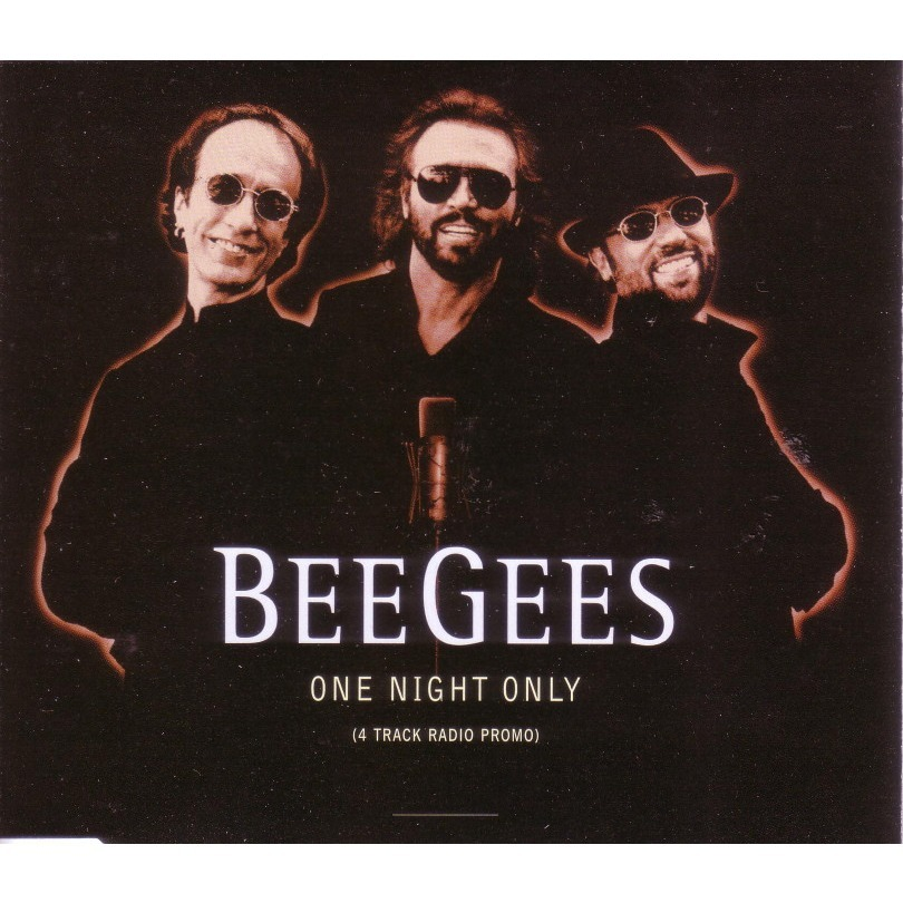 04541ad6f8d76 bee gees ONE NIGHT ONLY (PROMO)