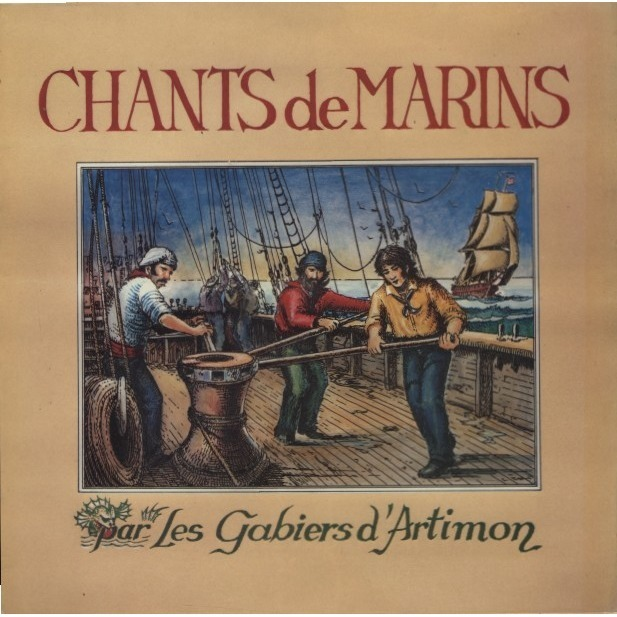 LES GABIERS D'ARTIMON Chants de Marins (lp + free cd copy)