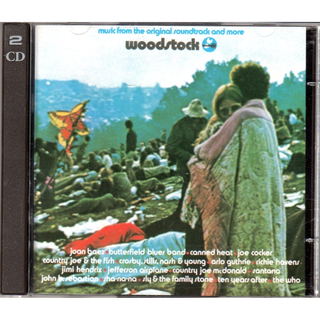 Various Artists Woodstock By Woodstock Cd X 2 With Mjlam