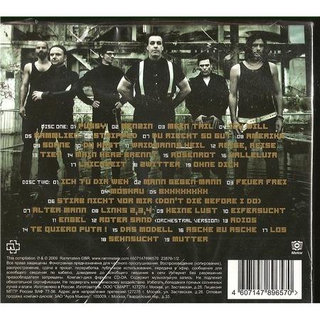 Rammstein Greatest Hits Cd X 2 For Sale On Cdandlp Com