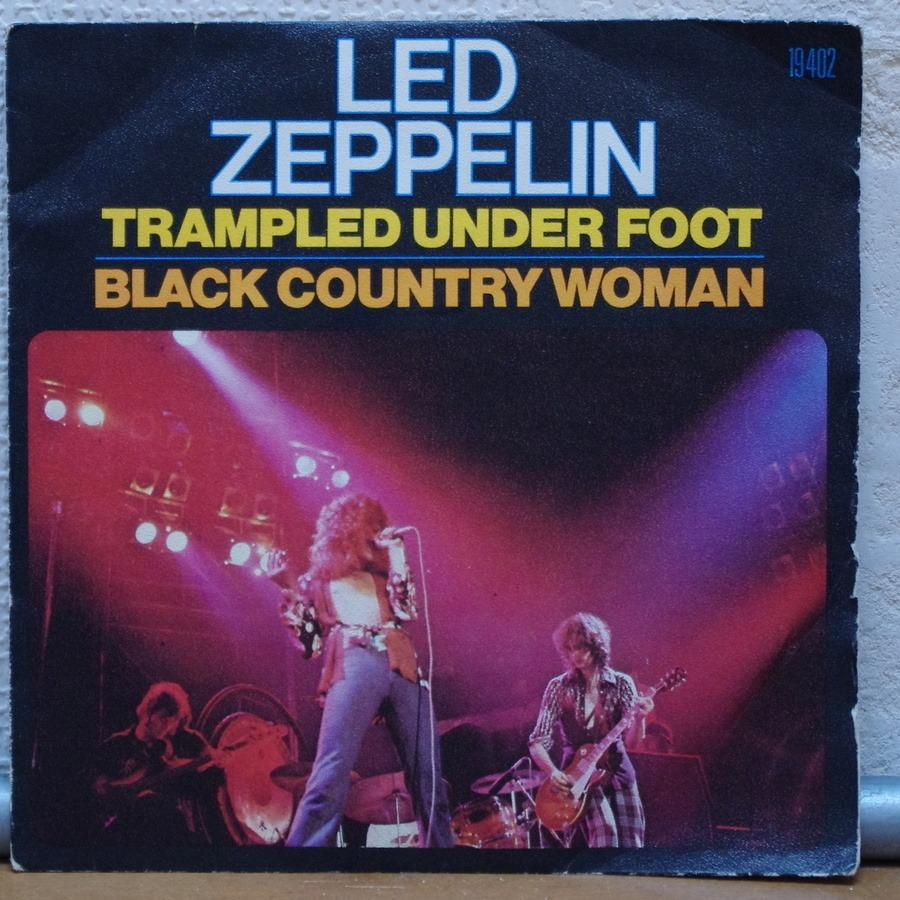 Trampled Under Foot Black Country Woman By Led Zeppelin
