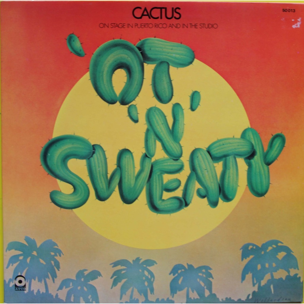 ot 'n' sweaty by CACTUS, LP Gatefold with nyphus - Ref:115478805