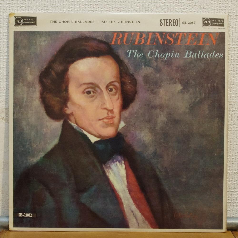 Arthur Rubinstein chopin ballades