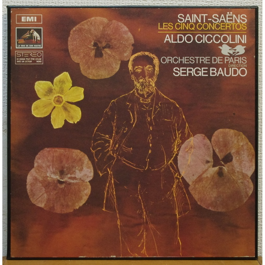 Aldo Ciccolini / Serge Baudo Saint-Saens  The five piano concertos
