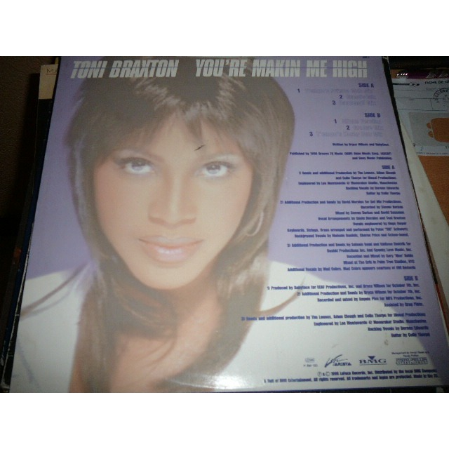 toni braxton you're makin me high