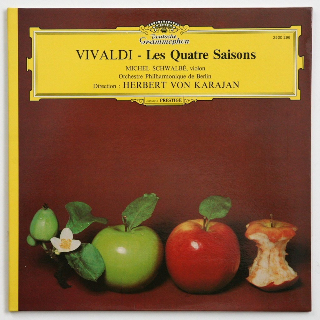vivaldi les quatre saisons by herbert von karajan lp. Black Bedroom Furniture Sets. Home Design Ideas