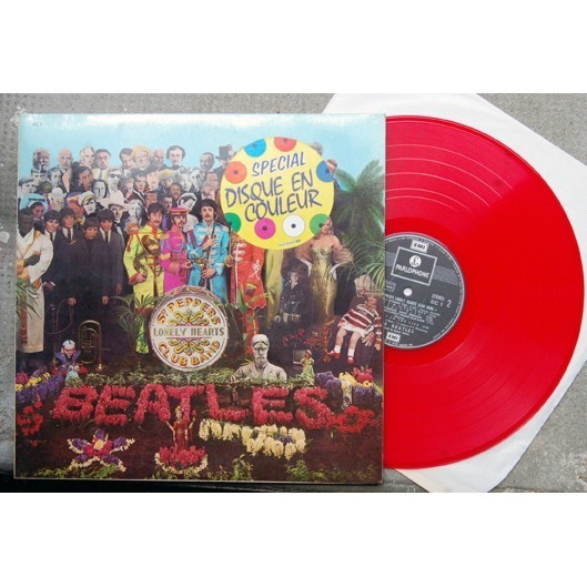 beatles beatles Sgt Peppers Lonely Hearts Club Band / Vinyl ROUGE E  Dc1 PARLOPHONE