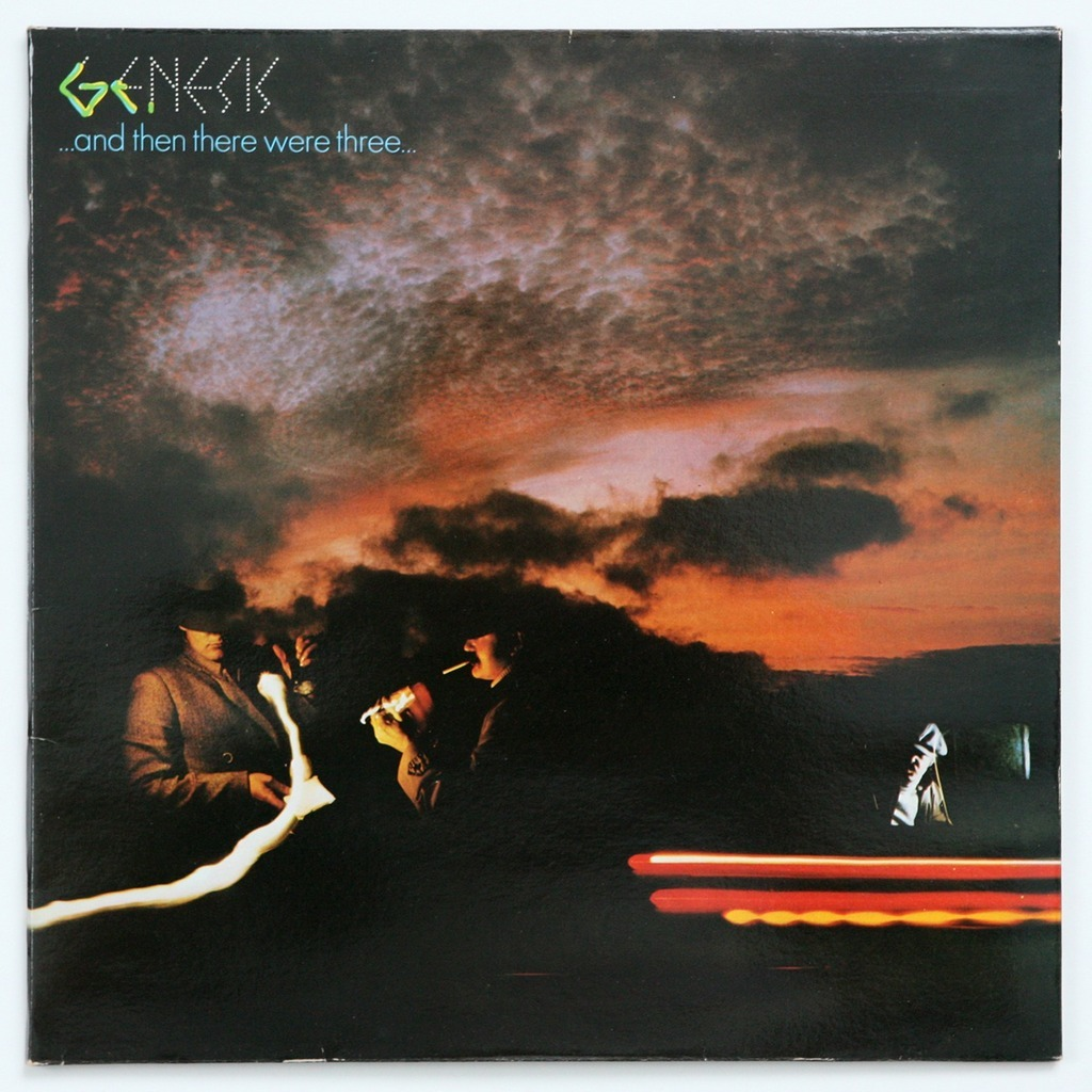 Genesis And Then Therewere Three By Genesis Lp With