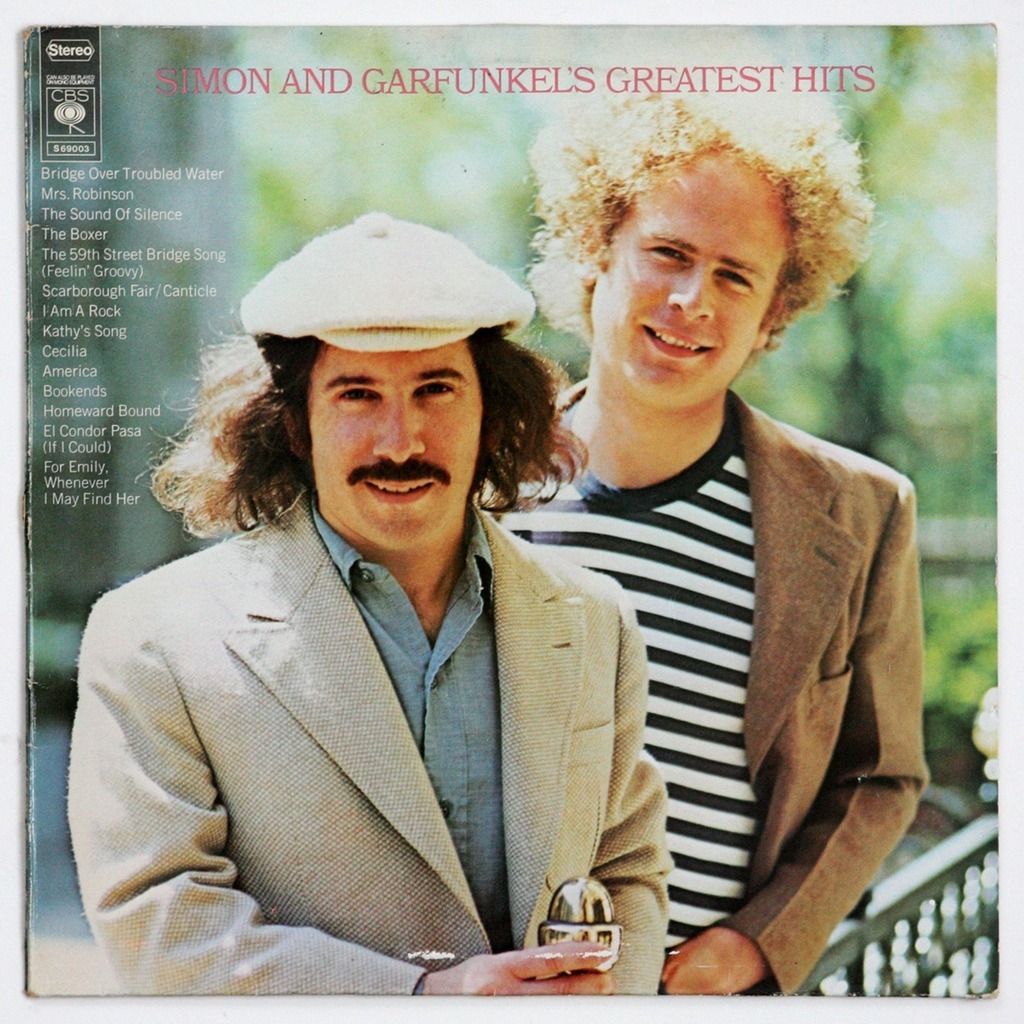 Greatest Hits By Simon And Garfunkel Lp With Gileric67