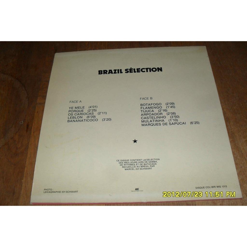 brazil selection brazil selection