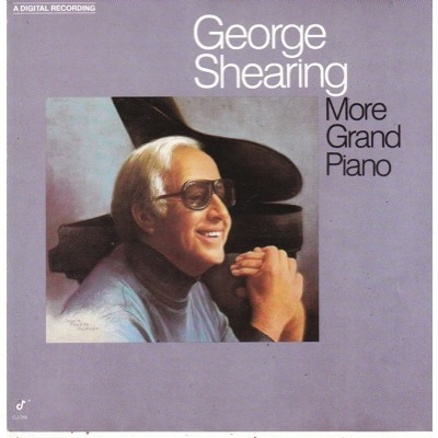 GEORGE SHEARING MORE GRAND PIANO