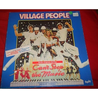 VILLAGE PEOPLE BOF can't stop the music