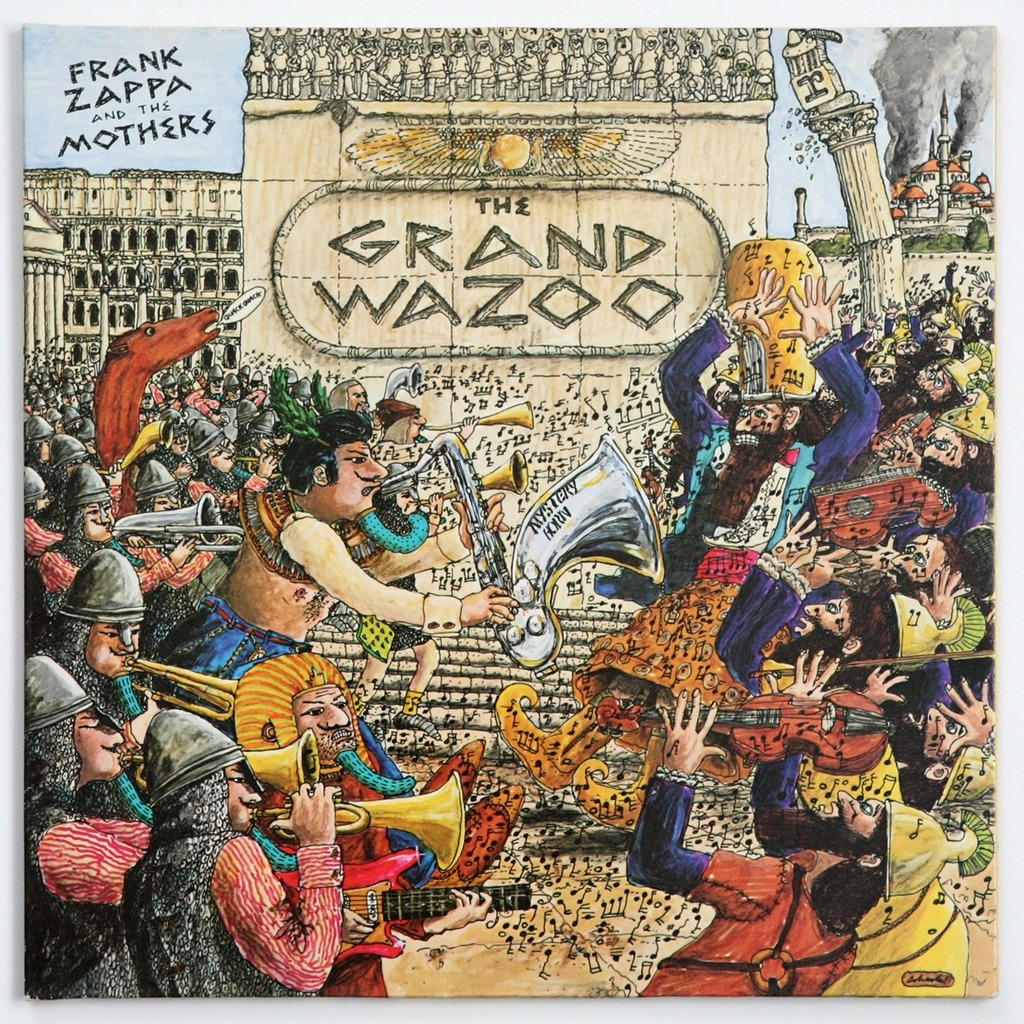 The Grand Wazoo By Franck Zappa Lp With Gileric67 Ref