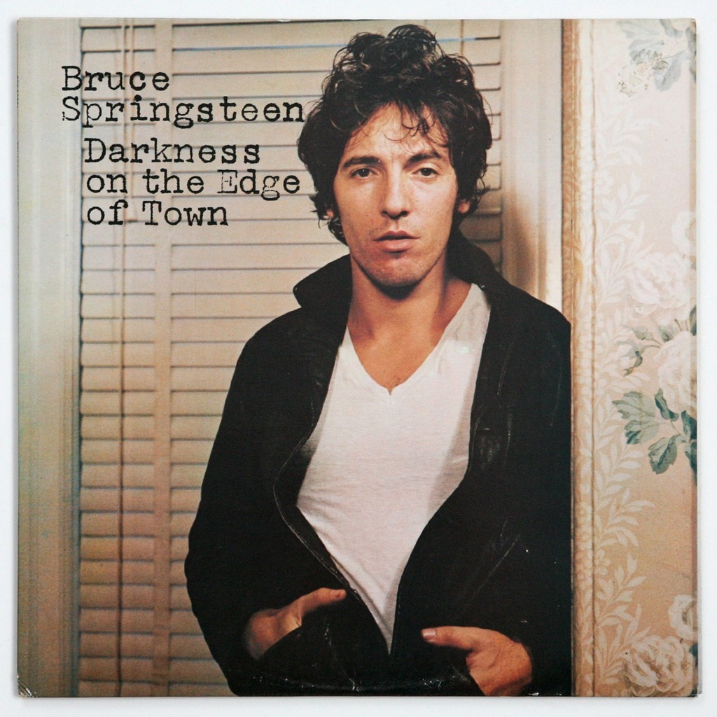 Αποτέλεσμα εικόνας για DARKNESS ON THE EDGE OF TOWN-Bruce Springsteen vinyl