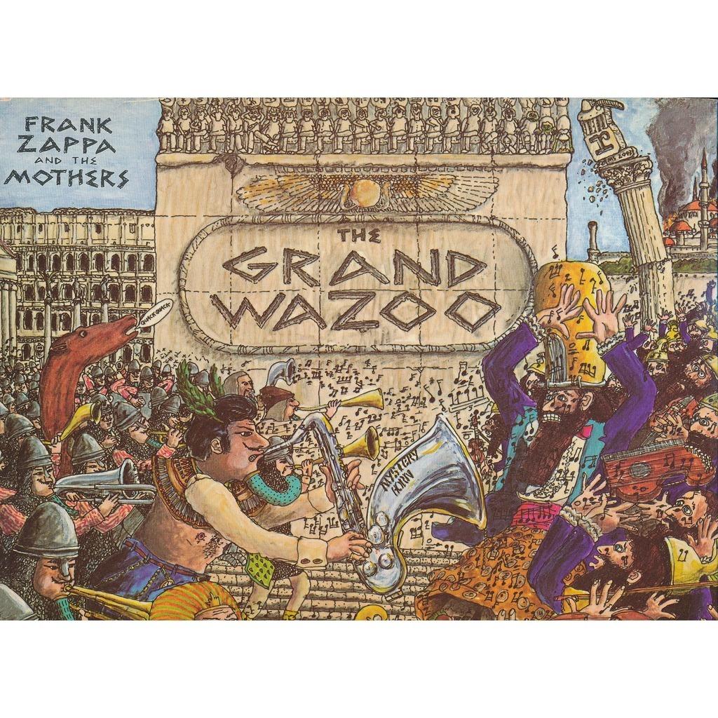 The Grand Wazoo By Zappa Frank Lp Gatefold With Neil93