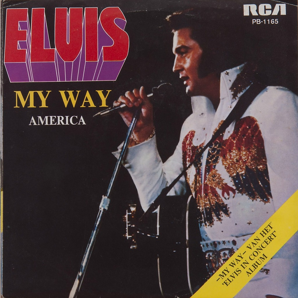 My Way America Live By Elvis Presley Sp With